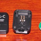 Conector del cable Flash desmontado (Autor: Oscar Fernandez)