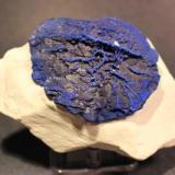 Azurite Malbunka Copper Mine, Areyonga, Northern Territory, Australia 12 x 8.5 cm Azurite Sun (Author: Don Lum)