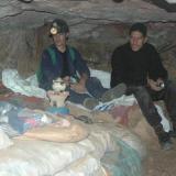 Camastro de los mineros que duermen DENTRO de la mina. Vaya pelotas que tienen. Qué gente más humilde y más maja (la que nosotros conocimos) (Autor: Gonzalo Garcia)
