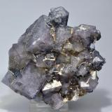 Fluorite, Galena Heights Quarry, Westgate, Weardale, North Pennines, Co. Durham, England, UK 10cm x 10xm (Author: James)