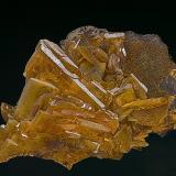 Wulfenite Mammoth Mine, Tiger, Mammoth District, Pinal Co., Arizona, USA 5.0 x 3.6 cm (Author: am mizunaka)