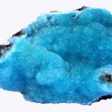 Hemimorphite Wenshan Mine, Wenshan Autonomous Prefecture, Yunnan Province, China Specimen size 8,5 cm (Author: Tobi)