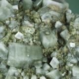 Harmotome Korsnäs, Vaasa, Länsi-Suomen (läani), Finland. 0,9x0,6x0,5cm (main crystal) (Author: Carles Curto)