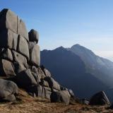 Isle of Arran, Scotland, UK Granite, miarolitic cavities, and mountains : ) (Author: Mike Wood)