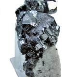 Bournonite, quartz Viboras Mine, Machacamarca (Colavi District), Cornelio Saavedra, Potosí, Bolivia 87 mm x 42 mm x 39 mm (Author: Carles Millan)