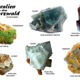 Minerals from Black Forest localities Black Forest, Germany  (Author: Tobi)