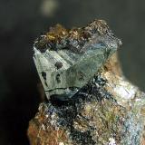 Tetraedrita. Minas del Vagón, Lanteira, Granada, Andalucía, España. Cristal de 16 mm. (Autor: Antonio Carmona)