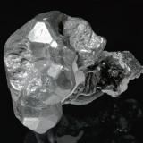 Acanthite Uchucchacua Mine, Oyon Province, Lima Department, Peru 2,5 cm A classic distorted crystal. (Author: Simone Citon)