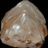 Calcite from Minnesota, modified image (Author: Pete Richards)