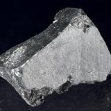 Acanthite San Juan de Rayas Mine, Guanajuato, Mexico Up to 2 cm A 2 cm partial cube. (Author: Simone Citon)