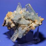 Beryl (var Aquamarine) Erongo Mountains, Erongo Region, Namibia 6 x 5.5 cm (Author: Don Lum)