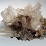 Calcite Pallaflat Mine, Bigrigg, Cumbria, England, Uk Group of calcite crystals, typically 35mm (Author: ian jones)