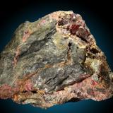 Cinabrio Mina Las Cuevas, Almaden, Ciudad Real, Castilla-La Mancha, España 9x7cm, cristales hasta 1.5cm (Autor: Raul Vancouver)