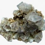 Fluorite Heights Mine, Westgate, Weardale, North Pennines, Co. Durham, England, UK Specimen size 6,5 cm (Author: Tobi)
