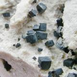 Acanthita Imiter Mine  - Marruecos 7.5 x 5.3 cm Detalle (Autor: Diego Navarro)