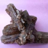 Aragonito Rambla del Tormagal, La Pesquera, Cuenca, Castilla la Mancha, España Cristal de mayor dimensión 5 x 2 cm (Autor: Cristalino)
