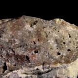 Oro nativo. Filón 340, Rodalquilar, Níjar, Almería, Andalucía, España 5,3x2,7x3 cm. Detalle pieza anterior. Col. y foto Nacho. (Autor: Nacho)