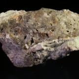 Oro nativo. Filón 340, Rodalquilar, Níjar, Almería, Andalucía, España 5,3x2,7x3 cm. Fina dispersión de oro. Col. y foto Nacho Gaspar. (Autor: Nacho)