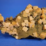 Wulfenite, Mottramite Ojuela Mine, Mapimi, Mun. de Mapimi, Durango, Mexico 7.7 x 5.0 cm (Author: Don Lum)