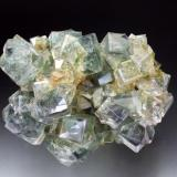 Fluorite White's Level, Middlehopeburn, Weardale, County Durham, England, UK 7 cm across (Author: Jesse Fisher)
