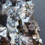 Esfalerita Cavnic Mine, Cavnic, Maramures, Rumania Cristal de 0,3 cm. (Autor: javier ruiz martin)