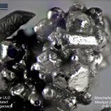Moschellandsbergite Mexico rear side same specimen (Author: Roger Warin)