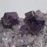 Fluorite Frazer's Hush Mine, Rookhope District, Weardale, North Pennines, Co. Durham, England, UK Field of view 7 cm  (Author: Leon Hupperichs)