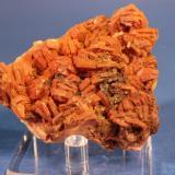 Barite with inclusions 18 Mine, Paleokamariza Mines, Lavrion, Attiki, Greece 6.4 x 4.8 x 2.4 cm (Author: Don Lum)