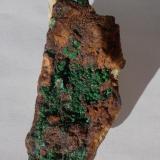 Conicalcita Calicata Dolores, Pastrana, Murcia, Región de Murcia, España 7cm x 2,5cm x 2cm (Autor: srm13151)