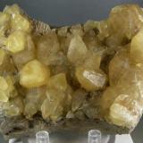 Calcita Pugh Quarry, Custar, Wood Co., Ohio, USA 10x7 cms (Autor: antoniopedro)
