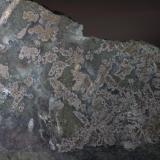 Plata nativa en Safflorita Castle mine - Gowganda - Ontario - Canada 176 x 60 x 0,6 mm Peso de la pieza: 224 gramos Plata nativa dendrítica en Safflorita Colección y Fotografía de Joan Martinez Bruguera (Autor: Joan Martinez Bruguera)