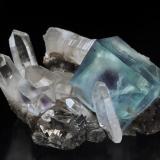 Fluorite Yaogangxian Mine, Yizhang, Chenzhou, Hunan, China 10.3 cm x 5.7 cm x 8.9 cm (Author: Gail)
