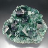 Fluorite Rogerley Mine, Jewel Box Pocket, Frosterley, Weardale, Co. Durham 15 cm across (Author: Jesse Fisher)