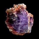 "Amethyst Heidelbach, Purschenstein, Erzgebirge, Saxony, Germany 4 x 3,5 cm The legendary ""Purschenstein amethyst"", a Saxonian rarity. The colour of that material is distinctive. (Author: Andreas Gerstenberg)"