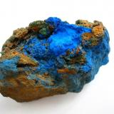 Azurite, malachite Kronprinz mine, Kamsdorf, Thuringia, Germany 6 x 4 cm (Author: Andreas Gerstenberg)