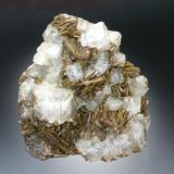 Fluorite and Siderite Stolberg, Harz Mts., Saxony-Anhalt 10x9x5 cm overall size (Author: Jesse Fisher)