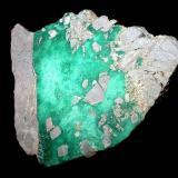Variscite Pansberg quarry, Horscha, Upper Lusatia, Saxony, Germany 6,5 x 5 cm (Author: Andreas Gerstenberg)