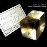 Calcite Rabenstein limestone mine, Chemnitz, Saxony, Germany 3 x 2,5 cm (Author: Andreas Gerstenberg)