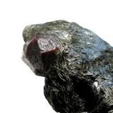 Almandine Ansprung, Zöblitz, Erzgebirge, Saxony, Germany 2 cm crystal (Author: Andreas Gerstenberg)