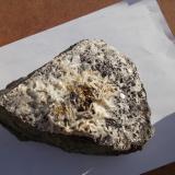 Baritina Barranco Jaroso, Sierra Almagrera, Los Lobos, Cuevas del Almanzora, Almería, Andalucia, España 17cm x 8cm x 9cm Parte inferior de la muestra anterior. (Autor: srm13151)