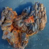 Limonita<br />Mines Can Palomeres, Malgrat de Mar, Comarca Maresme, Barcelona, Catalunya, España<br />10 x 6 cm<br /> (Autor: juan martin)