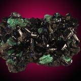Azurita Tsumcorp mine, Tsumeb, Otjikoto Region, Namibia 9x7cm (Autor: Raul Vancouver)