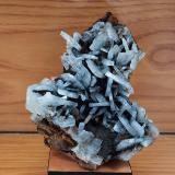 Baritina Mina Teresita, Atamaría, Cartagena, Murcia, Región de Murcia, España 9 x 10 cm. Baritina azul (Autor: Pedro Antonio López)
