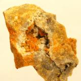 Wulfenita - Mina San Hipólito - Oria - Almería - Andalucía - España - 5,1 x 4,4 x 3,6 cm (Autor: Martí Rafel)