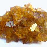 Fluorite Marienschacht Mine, Wölsendorf Fluorite mining District, Upper Palatinate, Bavaria, Germany Specimen size 7 cm  Fluorite (two generations) (Author: Tobi)