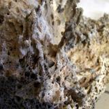 Basalto, estafilito Obras de la carretera, Fuencaliente, La Palma, Islas Canarias, España Detalle (Autor: canada)