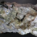 Pirita / Marcasita Canteras Clay, Cañada de Verich, Teruel, Aragón, España 14 x 8 x 6 cm (Autor: Joan Niella)