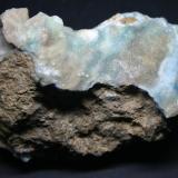 Hemimorfita Mina El Pedreo (La mina del Garmo), Arcentales, Encartaciones, Vizcaya, España. 90mm - 55mm - 37mm (Autor: Pedro Naranjo)