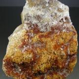Estroncianita Busot, Alicante, Comunidad Valenciana, España 11x7 cm (Autor: antoniopedro)
