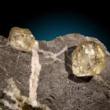 Calcita Mina La Cuerre, Rionansa, Zona minera de La Florida, Sierra de Arnero, Cantabria, España cristales hasta 4cm (Autor: Raul Vancouver)